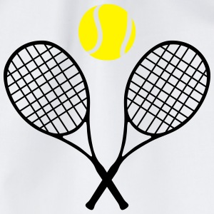 Tennis, tennis racket and tennis ball (cheap!) Shirts - Gymtas