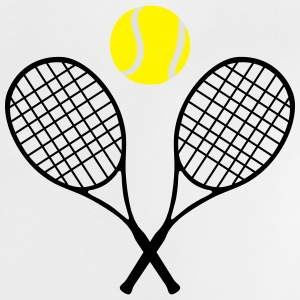 Tennis, tennis racket and tennis ball (cheap!) Shirts - Baby T-shirt