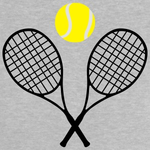 Tennis, tennis racket and tennis ball (cheap!) Magliette - Maglietta per neonato