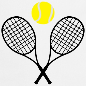 Tennis, tennis racket and tennis ball (cheap!) Débardeurs - Tablier de cuisine