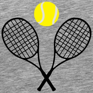 Tennis, tennis racket and tennis ball (cheap!) Sportsbeklædning - Herre premium T-shirt