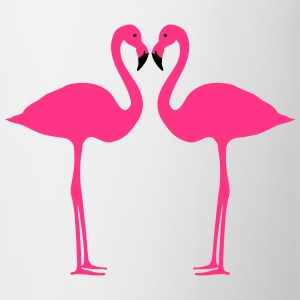 Flamingo, flamingos (super cheap!) T-shirts - Mok