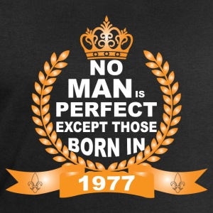 No Man is Perfect Except Those Born in 1977 T-Shirts - Men's Sweatshirt by Stanley & Stella
