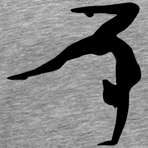 Gymnastics, gymnastics ( super cheap!) Manches longues - T-shirt Premium Homme