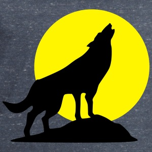 Wolf and full moon (super cheap!) T-shirts - Herresweatshirt fra Stanley og Stella