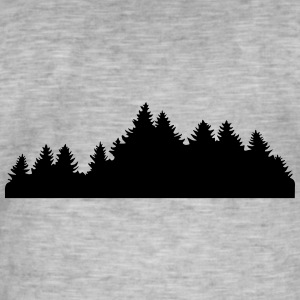 Wood, Forest, Trees (super günstig!) Sweatshirts - Herre vintage T-shirt