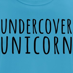 Undercover Unicorn Funny Quote Sports wear - Men's Breathable T-Shirt