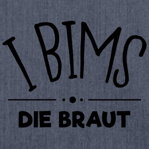 i bims die braut T-Shirts - Schultertasche aus Recycling-Material