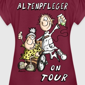 Altenpfleger on Tour Pullover & Hoodies - Frauen Oversize T-Shirt