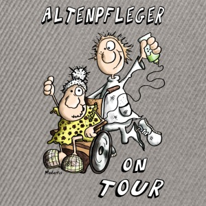 Altenpfleger on Tour T-Shirts - Snapback Cap