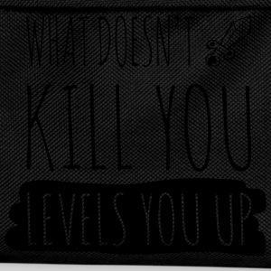 What doesn't kill you gives you xp T-shirts - Rugzak voor kinderen