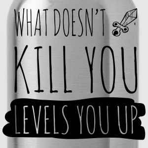 What doesn't kill you gives you xp T-shirts - Drinkfles