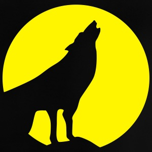Wolf, Moon (super cheap!) Skjorter - Baby-T-skjorte