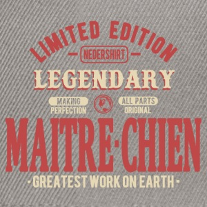 Maitre-chien Tee shirts - Casquette snapback