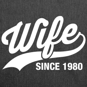 wife since 1980 T-Shirts - Schultertasche aus Recycling-Material