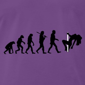 Evolution Poledance Tops - Männer Premium T-Shirt