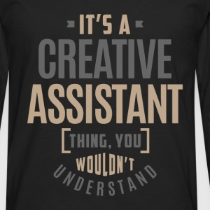 Creative Assistant - Men's Premium Longsleeve Shirt