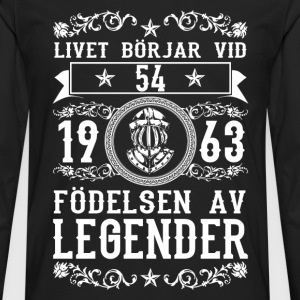 1963 - 54 ar - Legender - 2017 - SE T-Shirts - Men's Premium Longsleeve Shirt