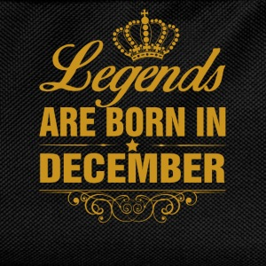 Legends are Born in December T-Shirts - Kids' Backpack