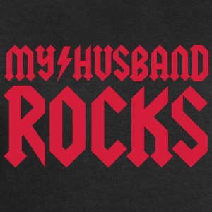 My husband rocks Tee shirts - Sweat-shirt Homme Stanley & Stella