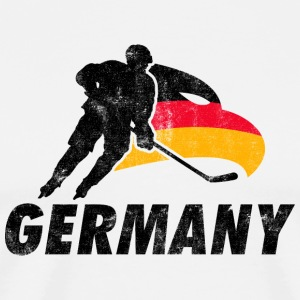 EISHOCKEY TEAM GERMANY  Langarmshirts - Männer Premium T-Shirt