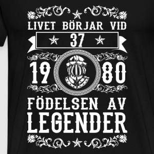 1980 - 37 ar - Legender - 2017 - SE Tops - Men's Premium T-Shirt