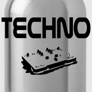 Techno T-Shirts - Trinkflasche