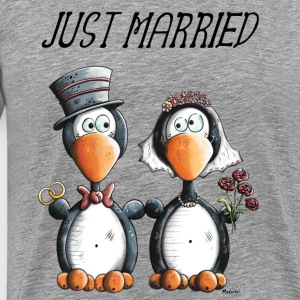 Just Married  Langarmshirts - Männer Premium T-Shirt