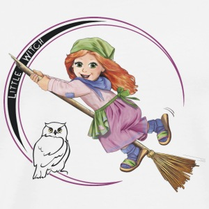 little witch - Männer Premium T-Shirt