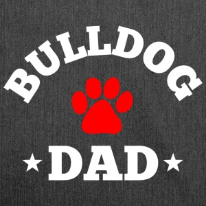 Bulldog Dad T-Shirts - Schultertasche aus Recycling-Material