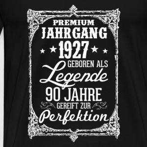 90-1927-legend - perfection - 2017 - DE Baby Bodysuits - Men's Premium T-Shirt