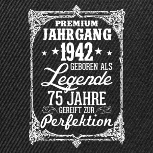 75-1942-légende - perfection - 2017 - DE Tee shirts - Casquette snapback