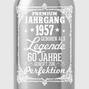 60 - 1957 - Legende - Perfektion - 2017 - DE T-Shirts - Trinkflasche
