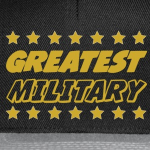 Greatest military T-Shirts - Snapback Cap