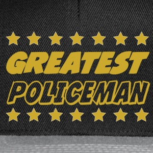 Greatest policeman T-Shirts - Snapback Cap