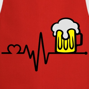 i love beer   T-Shirts - Cooking Apron