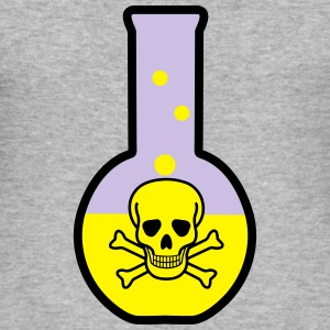 Test tube, chemistry Sweatshirts - Herre Slim Fit T-Shirt