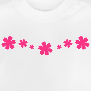 Blomster, blomst T-shirts - Baby T-shirt
