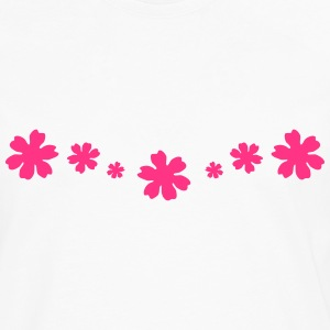 Flowers, flower Tee shirts - T-shirt manches longues Premium Homme