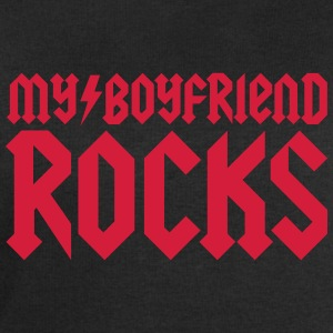My boyfriend rocks Tee shirts - Sweat-shirt Homme Stanley & Stella