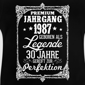 30 - 1987 - Legende - Perfektion - 2017 - DE T-Shirts - Baby T-Shirt