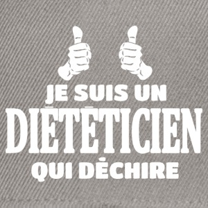Dieteticien Tee shirts - Casquette snapback