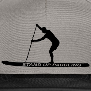 SUP - Stand Up Paddler (SUP-Board) T-Shirts - Snapback Cap