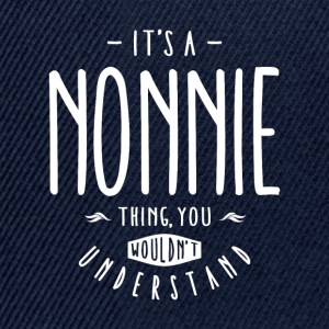 Nonnie Thing  - Snapback Cap