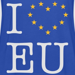 I Love EU (Europa / Europe) T-Shirts - Frauen Tank Top von Bella