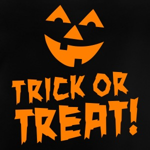 Zwart Trick or treat Kinder shirts - Baby T-shirt