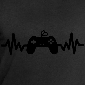 Gaming is life, geek, gamer , nerd t-shirt  - Felpa da uomo di Stanley & Stella