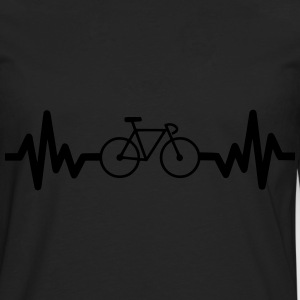 Bike is life Bicicleta t-shirt  - Camiseta de manga larga premium hombre