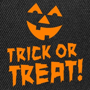 Zwart Trick or treat Sweaters - Snapback cap