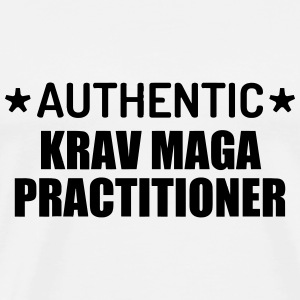Krav Maga / Krav-Maga / Fight / Martial Art Baby body - Mannen Premium T-shirt